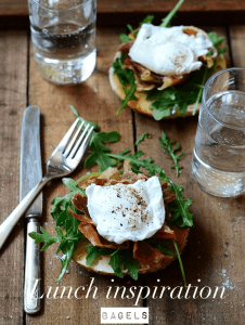 Lunchinspiration: bagels