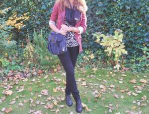 Outfit: autumn leafs