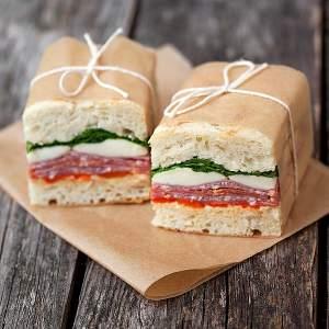 Recipe: Picnic sandwiches