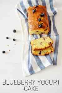 Recept: De allerlekkerste yoghurt bosbessen cake