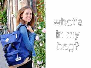 Copenhagen trip: what's in my Eastpak bag?