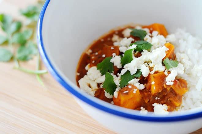 zoete aardappelcurry 2