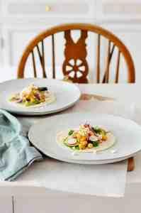 Recept: frisse wraps met kikkererwten, feta en radijs (vega)