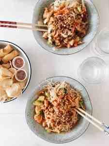 Veggie challenge eetdagboek 2: eten bij m'n schoonouders, voor het eerst uiteten & een klein foutje