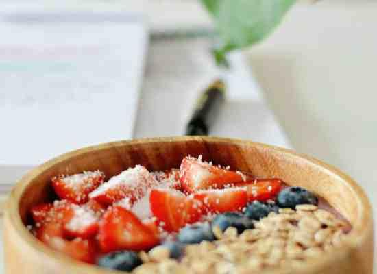 snelle en simpele smoothie bowls