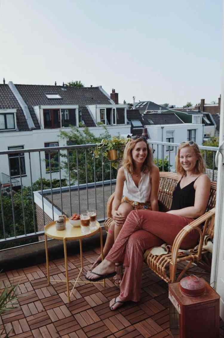 balkon make-over