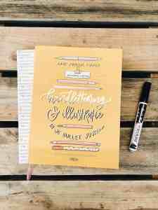 Boek review: Gouden Lijntjes – Handlettering en illustratie in je bullet journal