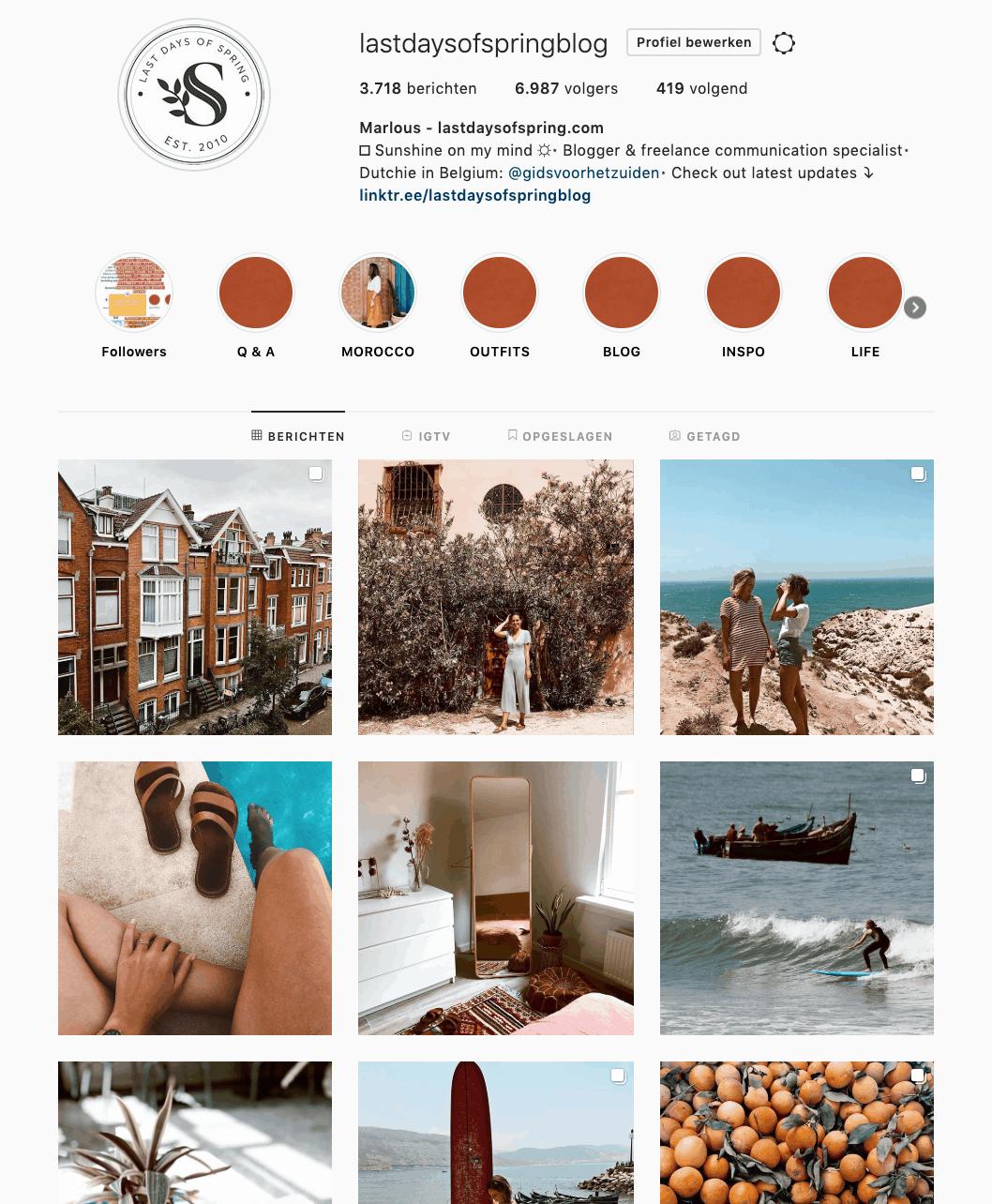 Instagramvolgers
