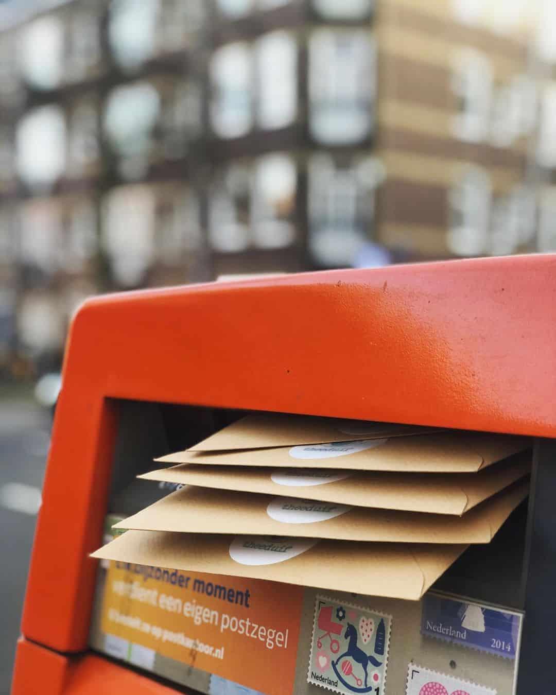 cadeautjes per post