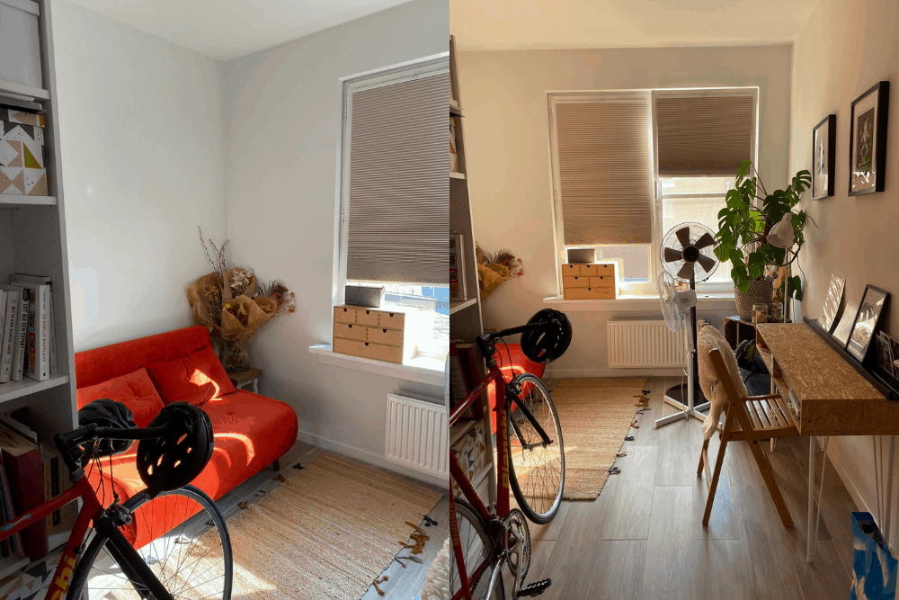 home office make over