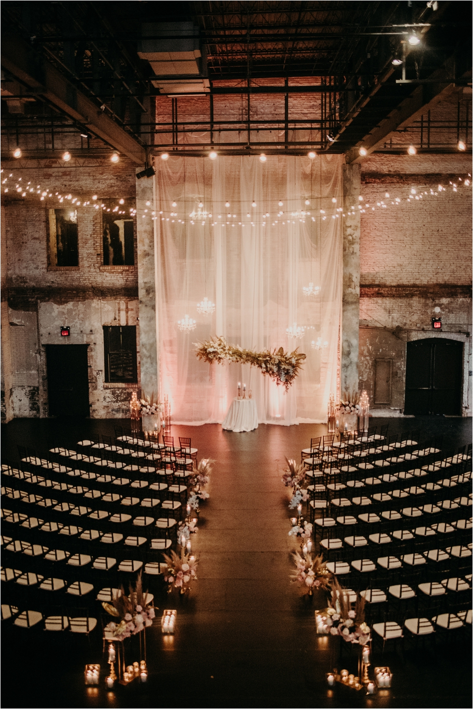 Pampus Grass Wedding Ceremony
