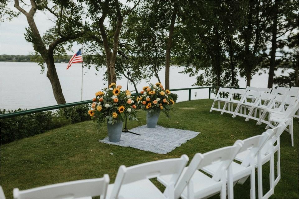 Lake Minnetonka Island Wedding