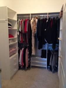 Lasting Order closet organizing