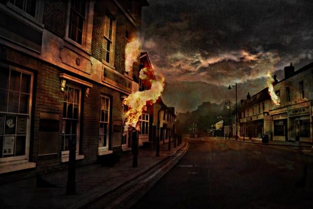 Autumn: The City by Anthony White (thelastsurvivors.co.uk) © Anthony White