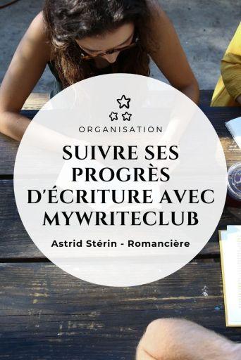 Outil d'écriture : suivre sa progression grâce au site myWriteClub