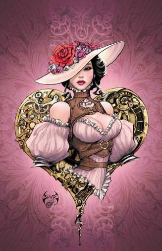 Lady Mechanika - Valentine Print