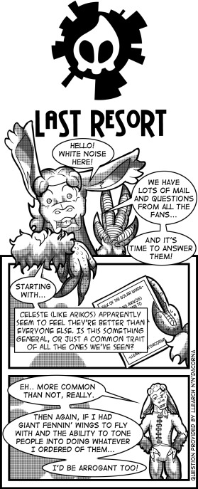 Bonus Comic Cover – With White Noise!