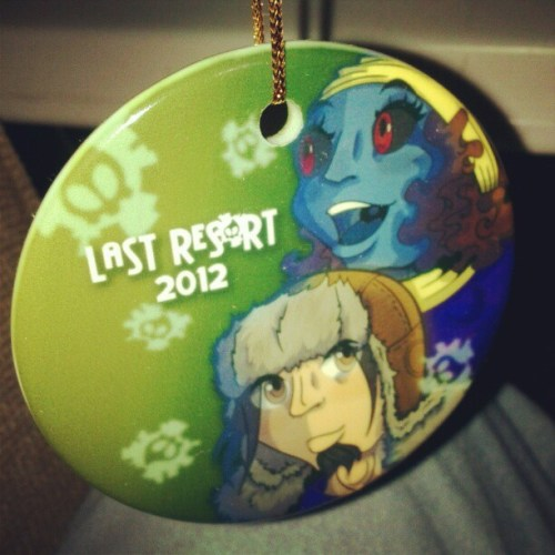 Last Res0rt's 2012 Holiday Ornament