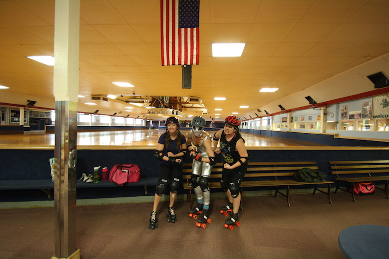 Revised roller derby