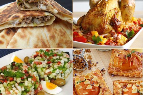 menu appétisant pour Ramadan