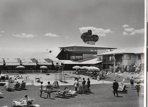 Desert Inn Hotel by the pool