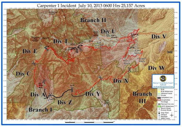 Carpenter 1 Fire New Map Released