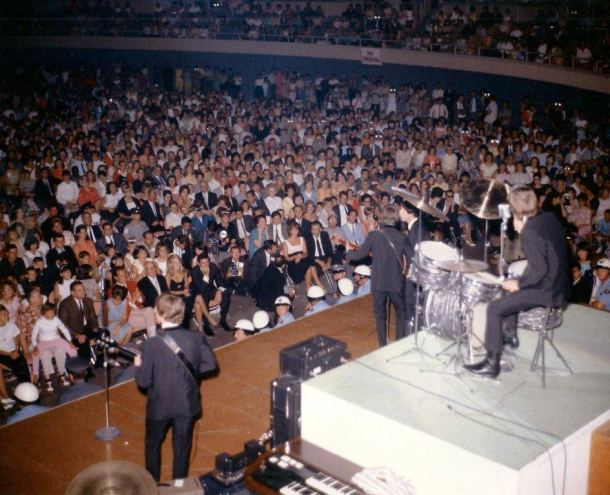 The Beatles at the Las Vegas Convention Center August 20,1964