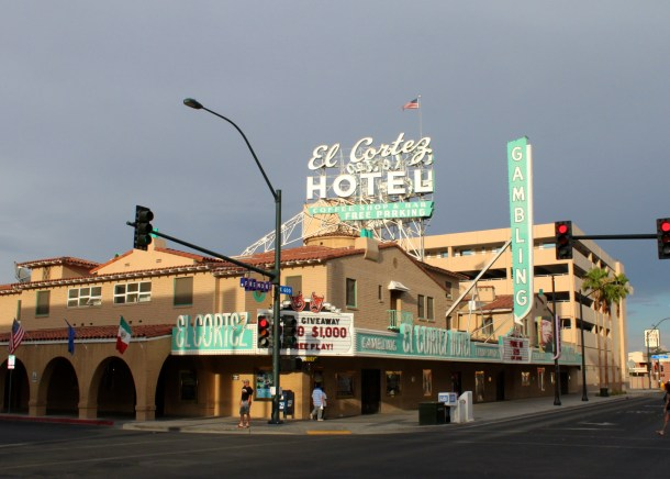 El Cortez Hotel in downton Las Vegas