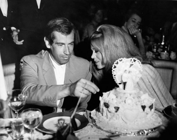 Jane Fonda Marries Roger Vadim at the