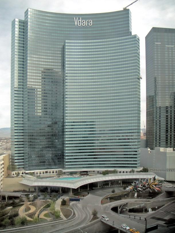 Vdara Hotel & Spa on the Las Vegas Strip