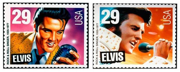 29 Cent Elvis Presley Stamps