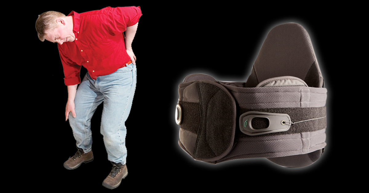 Pain Relieving Back Support Brace