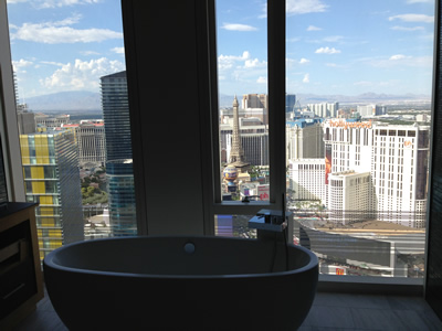 Penthouse 3 Bedroom 4 Bath Mandarin Oriental Las Vegas High Rise Condos For Sale Tub