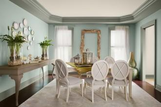 Blue Painted Room Idea