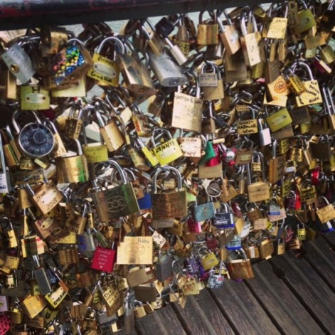 Pons des Arts Bridge locks