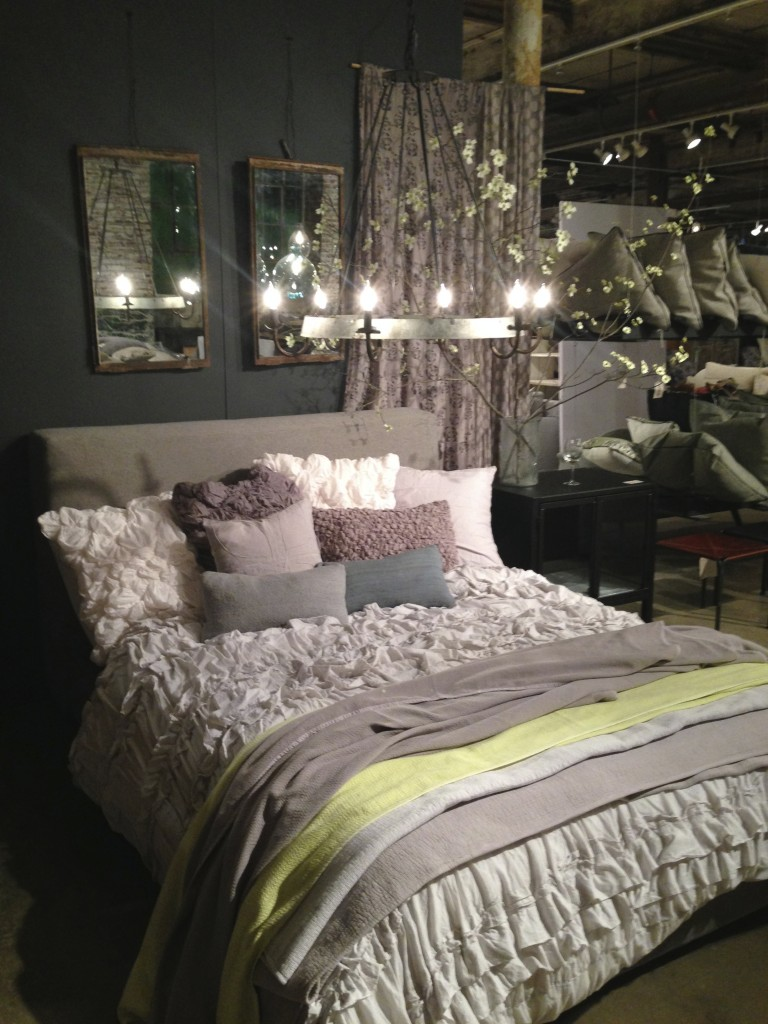 Interior Design Bedroom Gray and Yellow