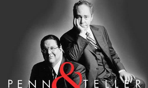 Penn and Teller show Las Vegas