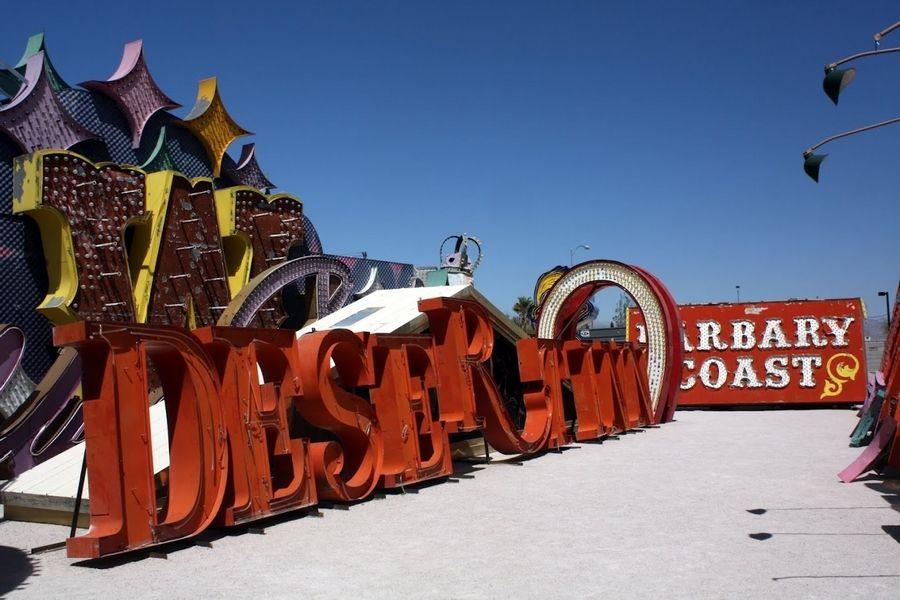 Neon Museum Las Vegas Desert Inn Sign