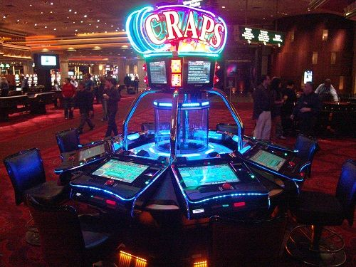 electronic craps machine