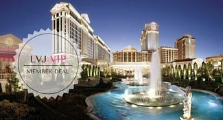 Caesar's Palace Las Vegas VIP Member Deal