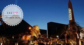 Luxor Las Vegas Discount