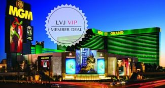 MGM Grand Las Vegas Discount Deal