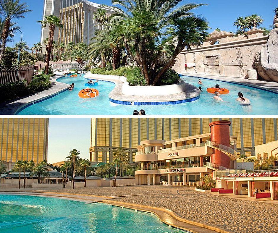 Mandalay Bay Pool Las Vegas