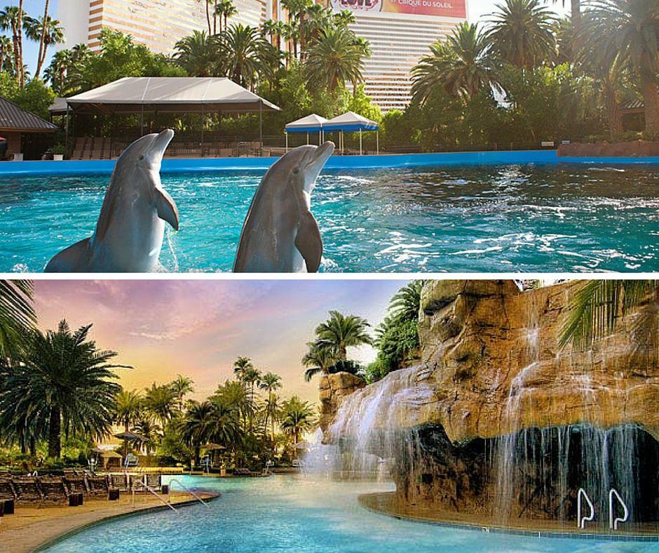 Mirage Pool Las Vegas