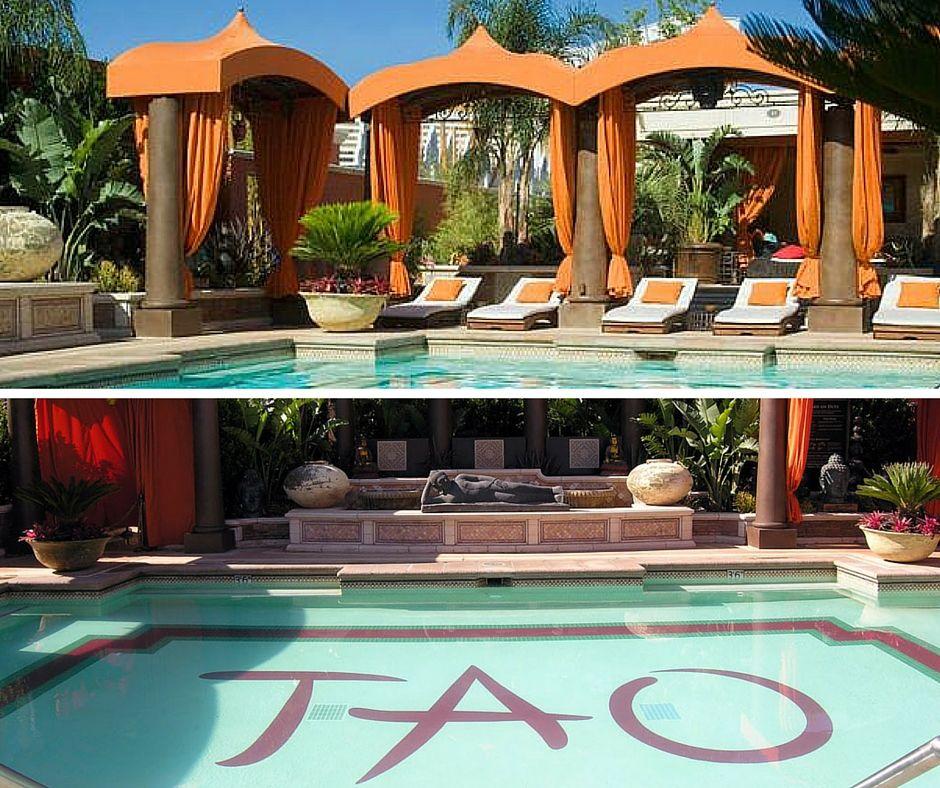 Tao Beach Pool Venetian Las Vegas