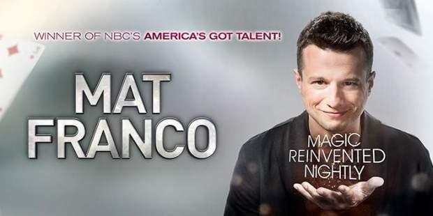 Mat Franco Magic Reinvented Nigthly Discount Las Vegas