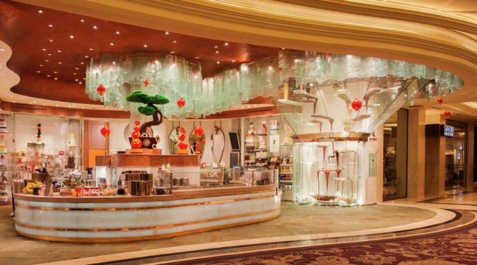 Bellagio Las Vegas Patisserie Chocolate Fountain