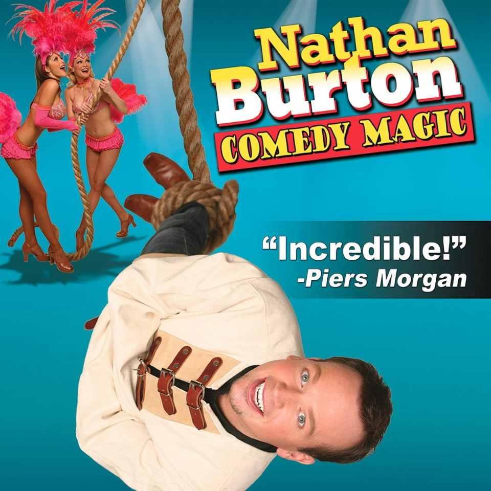 Nathan Burton Comedy Magic Las Vegas Tickets