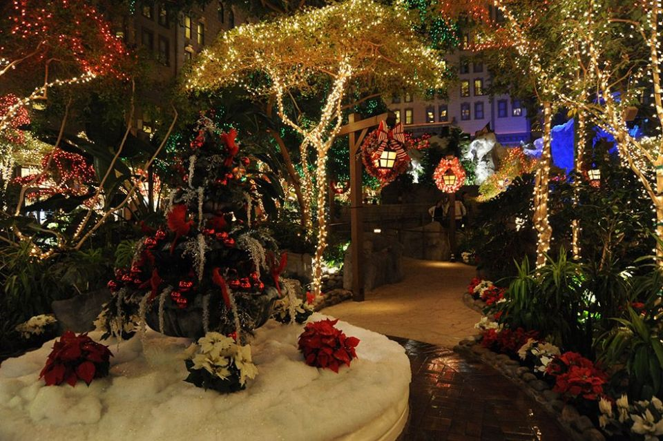 Sam's Town Las Vegas Mystic Falls Park Christmas