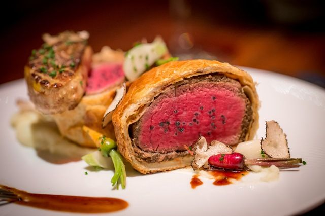 Gordon Ramsey Steak Las Vegas Beef Wellington